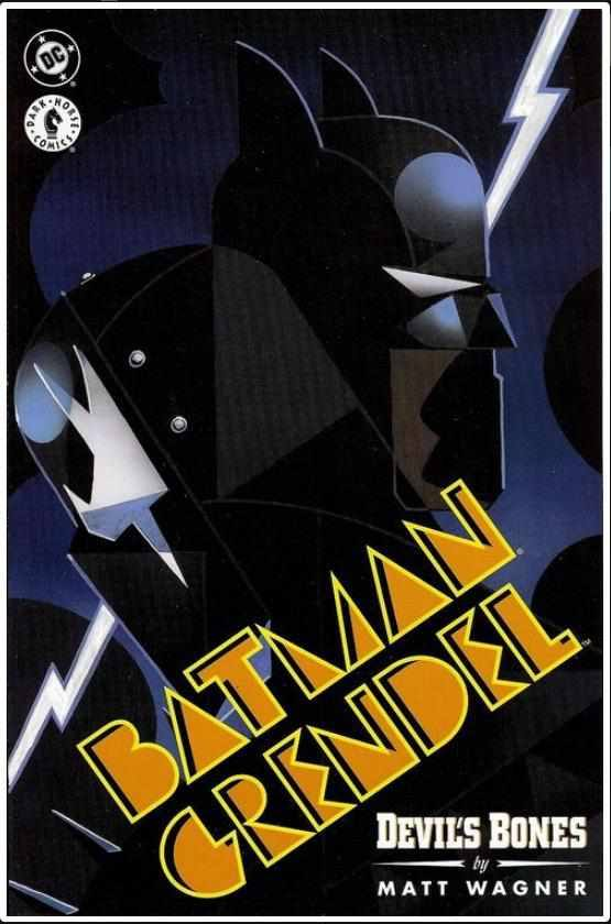 BATMAN / GRENDEL '96 #1 | DC / DARK HORSE | MAY 1996