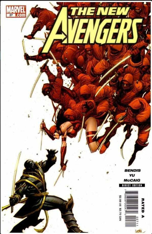 NEW AVENGERS VOL 1 #27 | MARVEL | APR 2007 | 🔑  | 1ST APP SECCOND RONIN