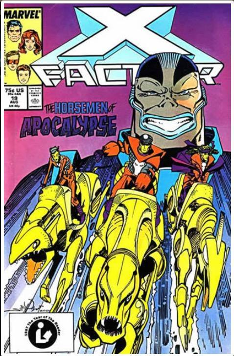 X-FACTOR VOL 1 #19 | MARVEL | AUG 1987 | 🔑