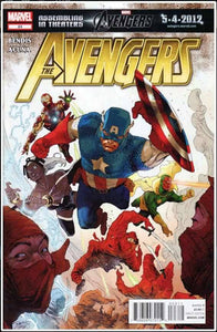 THE AVENGERS VOL 4 #23 | MARVEL | FEB 2012