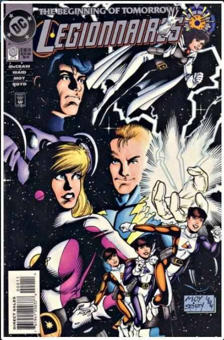LEGIONNAIRES #0 | DC | OCT 1994 | KEY | FLASH DAUGTHER