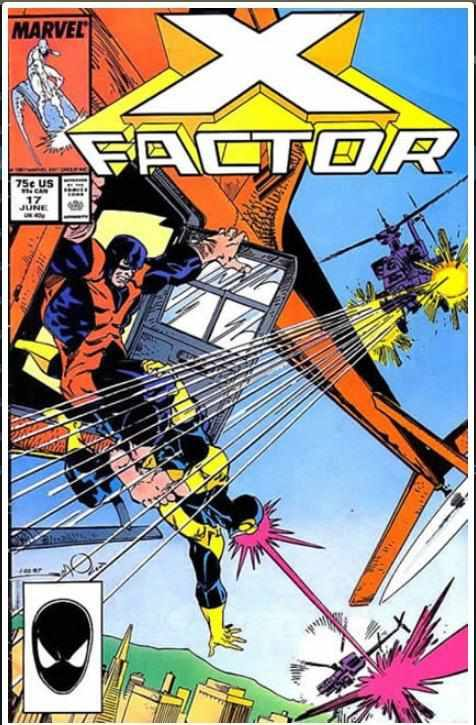 X-FACTOR VOL 1 #17 | MARVEL | MAR 1987