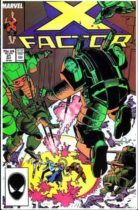 X-FACTOR VOL 1 #21 | MARVEL | OCT 1987