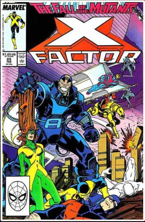 X-FACTOR VOL 1 #25 | MARVEL | FEB 1988