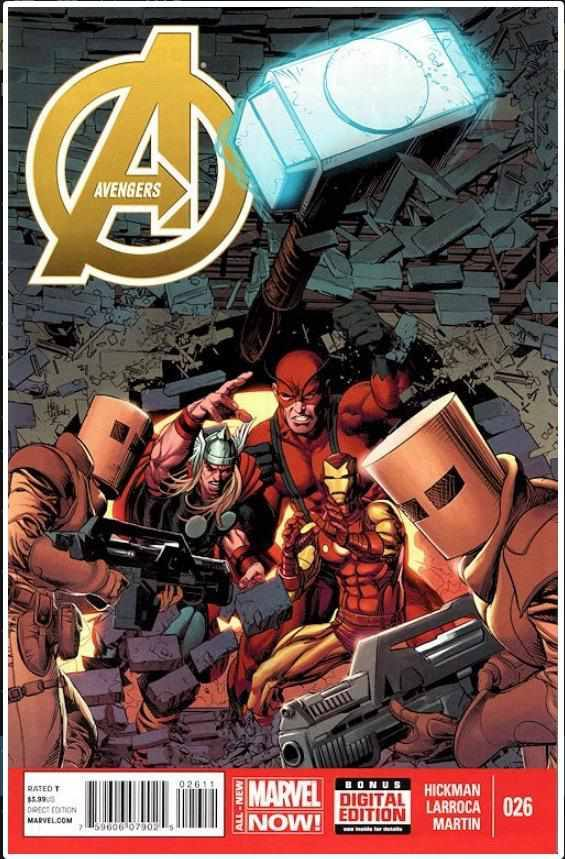 THE AVENGERS VOL 5 #26 | MARVEL | FEB 2014