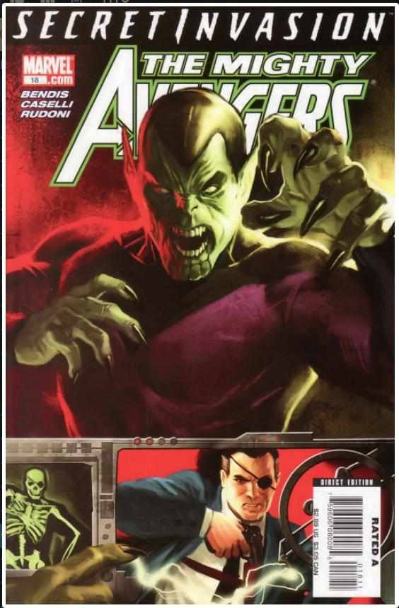 MIGHTY AVENGERS VOL 1 #18 | MARVEL | SEP 2008