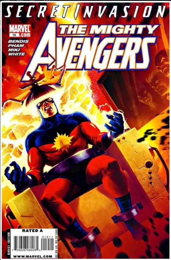 MIGHTY AVENGERS VOL 1 #19 | MARVEL | OCT 2008