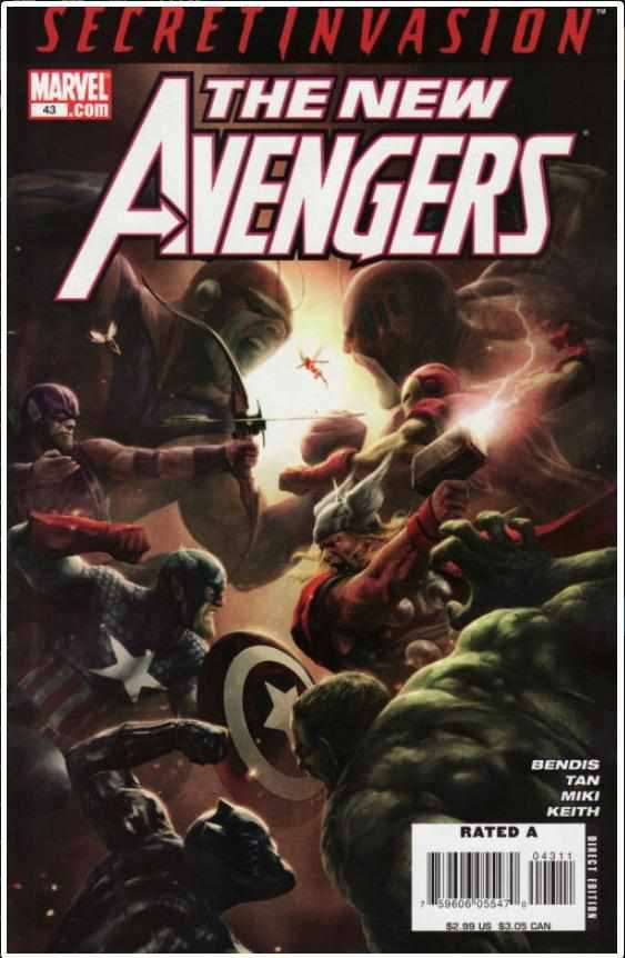 NEW AVENGERS VOL 1 #43 | MARVEL | JUL 2008