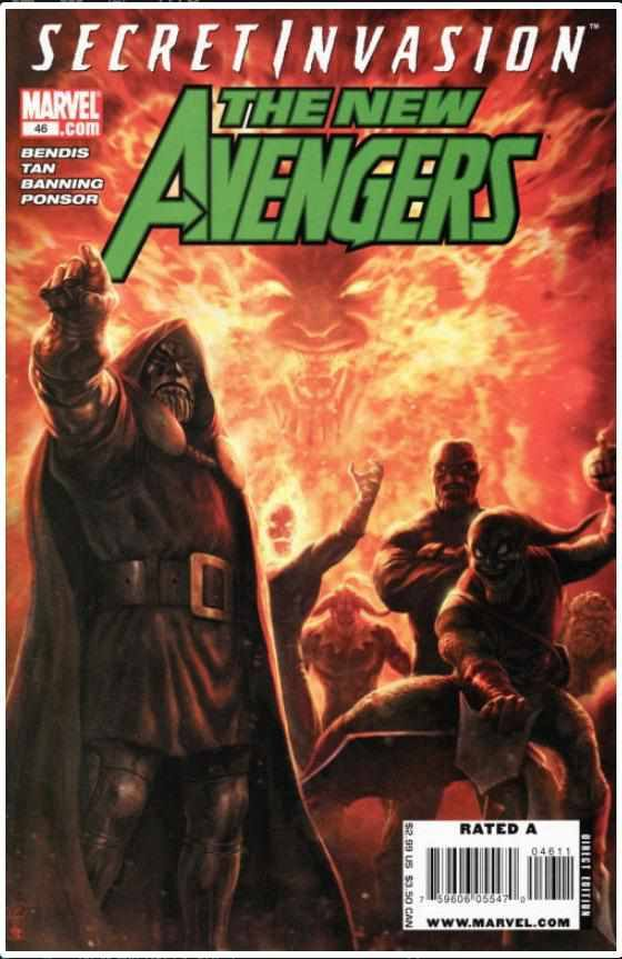 NEW AVENGERS VOL 1 #46 | MARVEL | OCT 2008