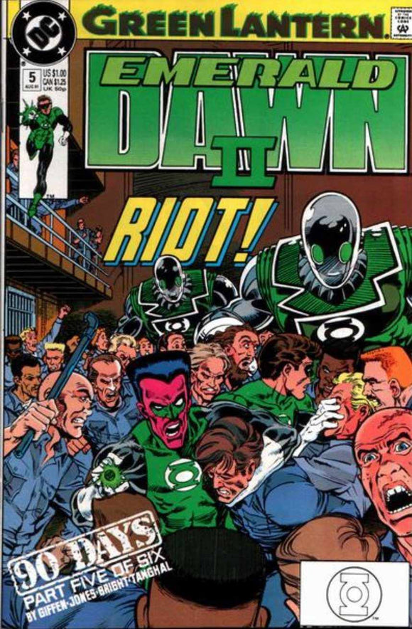 GREEN LANTERN: EMERALD DAWN II ISSUE #1 DC | 1991