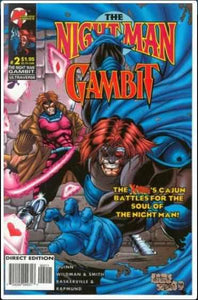 NIGHT MAN / GAMBIT #2 | MALIBU | APR 1996