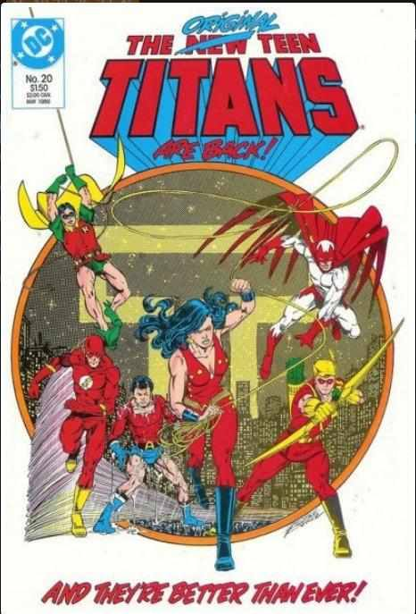 THE NEW TEEN TITANS VOL 2 #20 | DC | MAY 1986