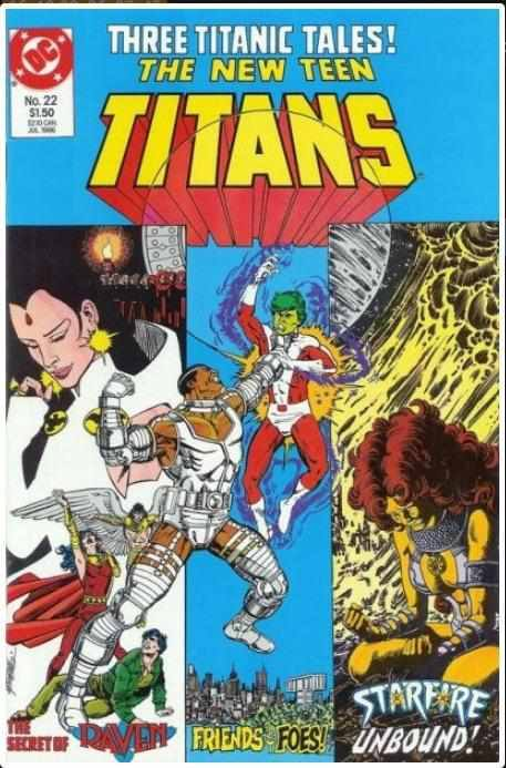 THE NEW TEEN TITANS VOL 2 #22 | DC | JUL 1986