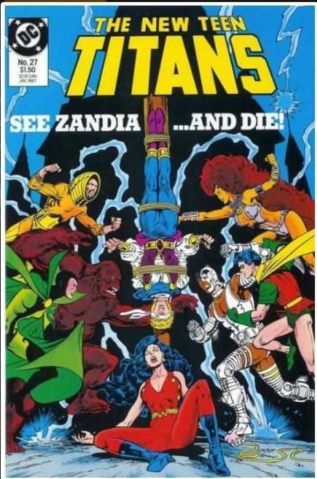 THE NEW TEEN TITANS VOL 2 #27 | DC | JAN 1987