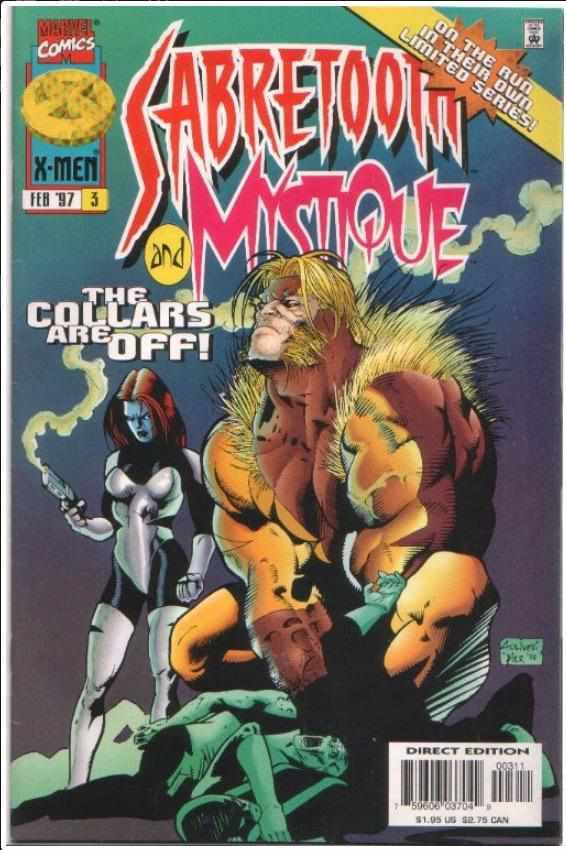 SABRETOOTH AND MYSTIQUE #3 | MARVEL | FEB 1997