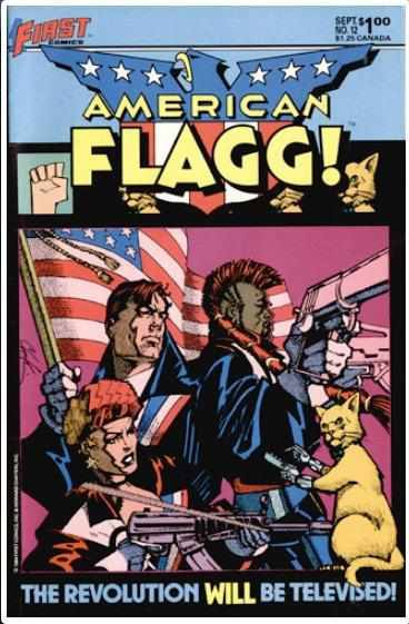 AMERICAN FLAGG! VOL 1 #12 | FIRST | SEP 1984