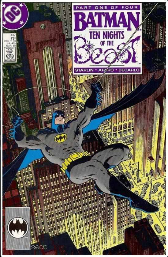 BATMAN VOL 1 #417 | DC | JAN 1988 | 1ST KGBEAST 🔑