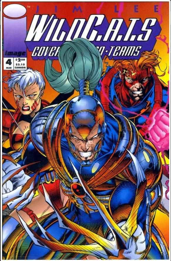 WILDC.A.T.S VOL 1 #4 | IMAGE | MAR 1993