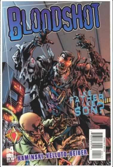 BLOODSHOT VOL 2 #4 | ACCLAIM | OCT 1997