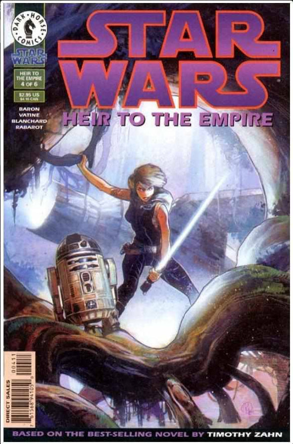 STAR WARS: HEIR TO THE EMPIRE #4 | DARK HORSE | JAN 1996 | TIP! | HOT BOOK | 🔑