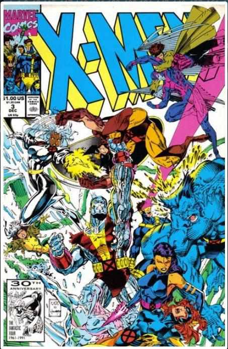 X-MEN VOL 1 #3 | MARVEL | DEC 1991