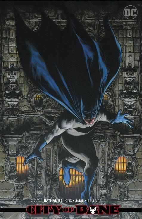 BATMAN #82 - CARD STOCK VARIANT - CHAREST DC | 2019