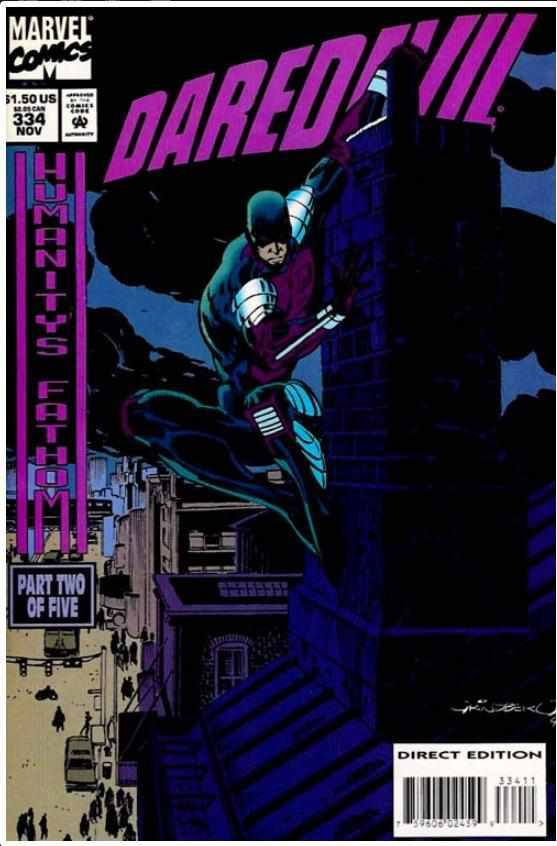 DAREDEVIL VOL 1 #334 | MARVEL | NOV 1994