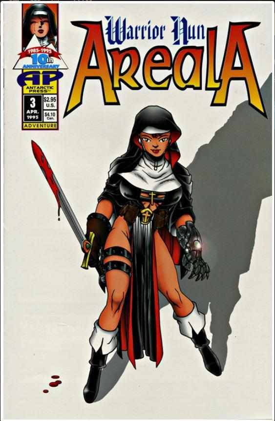 WARRIOR NUN AREALA VOL 1 #3 | ANTARCTIC | APR 1995