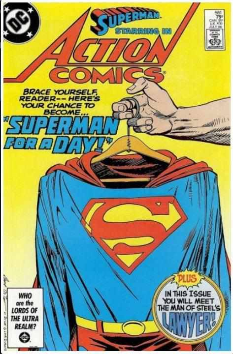 ACTION COMICS, VOL. 1 #581 | DC | JUL 1986