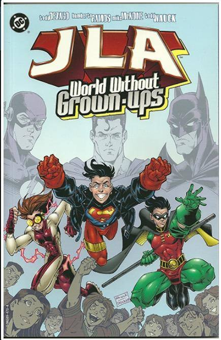 JLA: WORLD WITHOUT GROWN-UPS | DC | 1998 | PRESTIGE EDITION