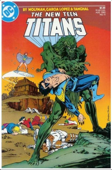 THE NEW TEEN TITANS VOL. 2 #11 | DC | AUG 1985