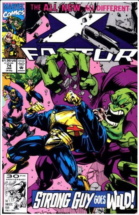 X-FACTOR VOL. 1 #74 | MARVEL | JAN 1992