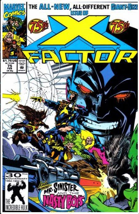 X-FACTOR VOL. 1 #75 | MARVEL | FEB 1992 | 1ST NASTY BOYS 🔑
