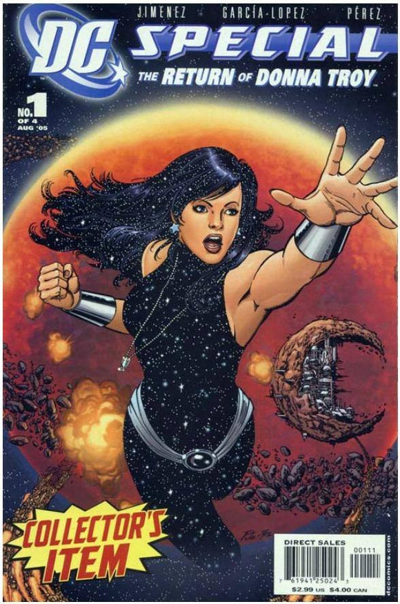 DC SPECIAL: THE RETURN OF DONNA TROY #1 | DC | AUG 2005