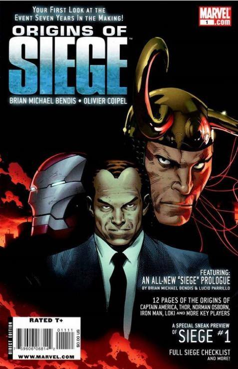 ORIGINS OF SIEGE #1 MARVEL | FEB 2010