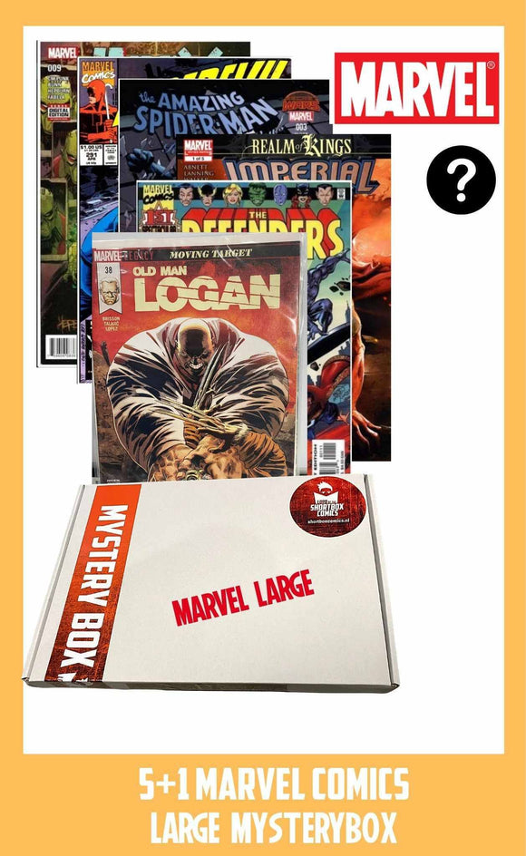 MARVEL MYSTERYBOX |  5+1 comics voor €15 euro!