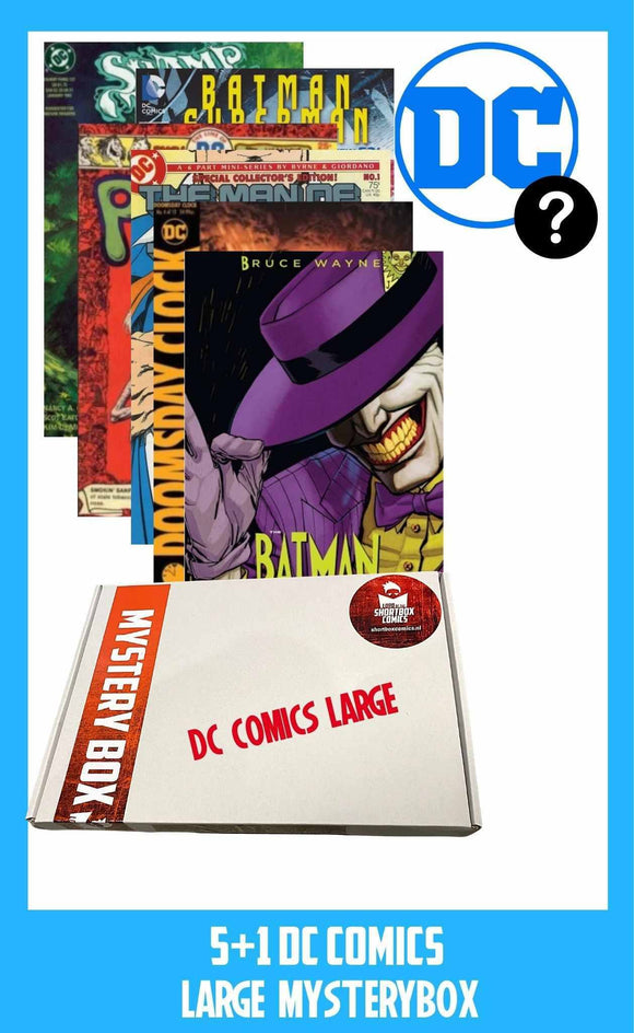 DC COMICS MYSTERYBOX | 5+1 comics voor €15 euro!