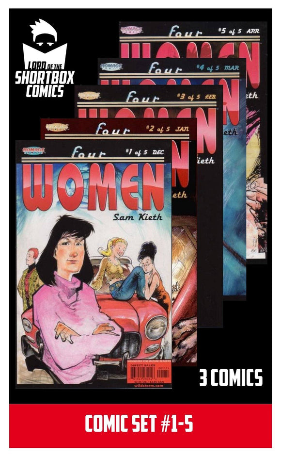 COMIC SET: DAYDREAMERS #1-3 | MARVEL | 1997