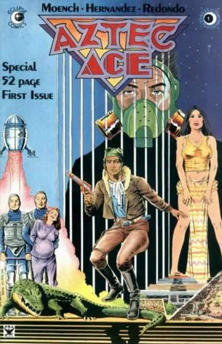 AZTEC ACE ISSUE #1 ECLIPSE | 1984-Shortbox Comics