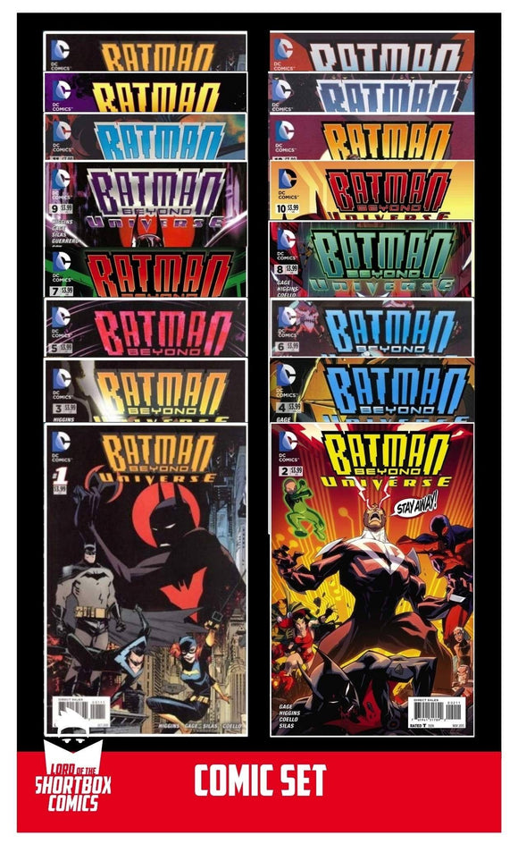 COMIC SET: BATMAN BEYOND UNIVERSE #1-16 | DC | 2013