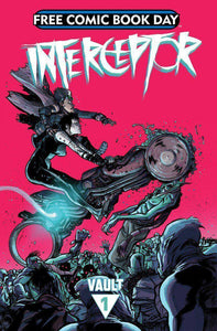 INTERCEPTOR #1 - FCBD HEAVY METAL | 2015 | DONNY CATES-Shortbox Comics