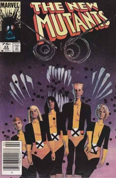 New Mutants Vol. 1 #24 (MARVEL 1985 1ST PRINT)-Shortbox Comics