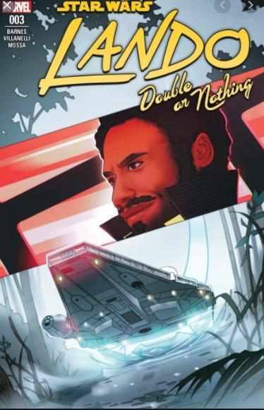 STAR WARS: LANDO - DOUBLE OR NOTHING #3 MARVEL | 2018-Shortbox Comics