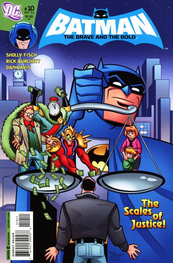 THE ALL-NEW BATMAN: THE BRAVE AND THE BOLD ISSUE #10 2010-Shortbox Comics