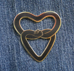 Heart in Hand Unity Pin