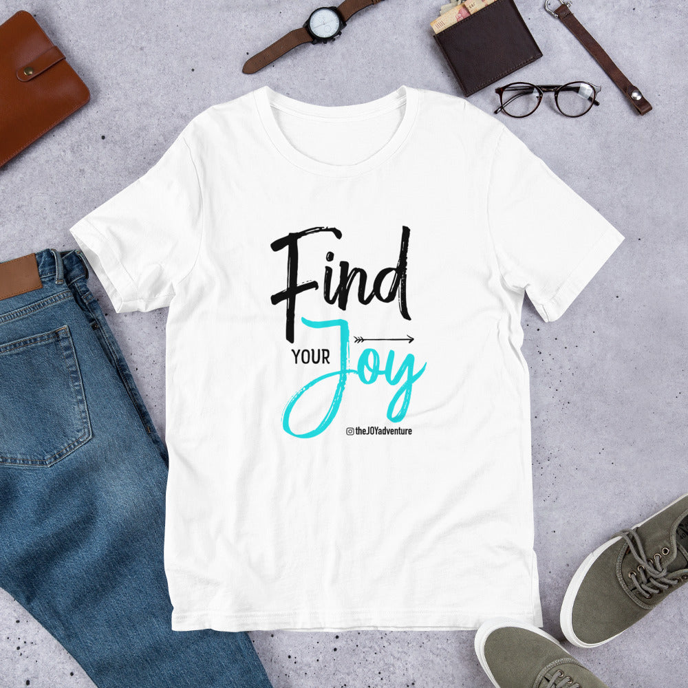 Find Your Joy White Tee