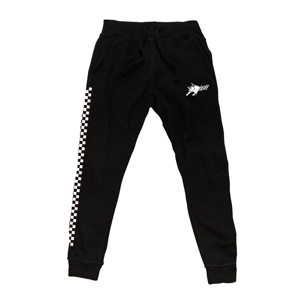 Race Black Sweatpants