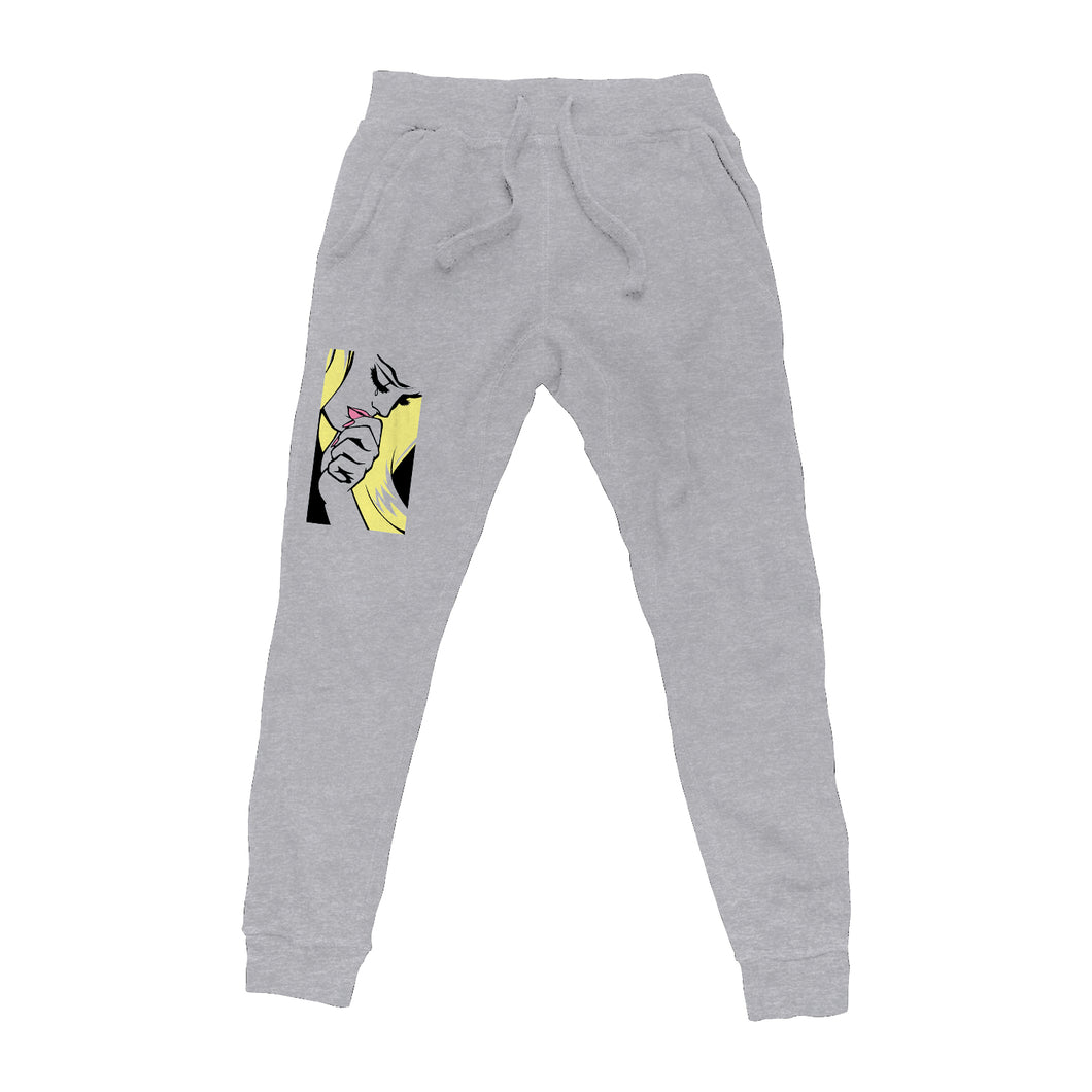 Iconic Heather Grey Sweatpants