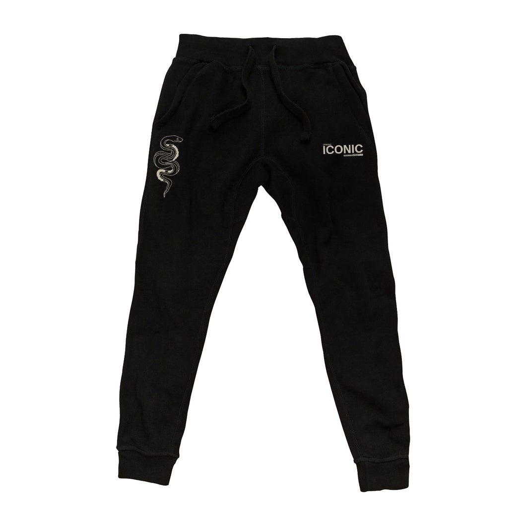 Iconic Black Sweatpants