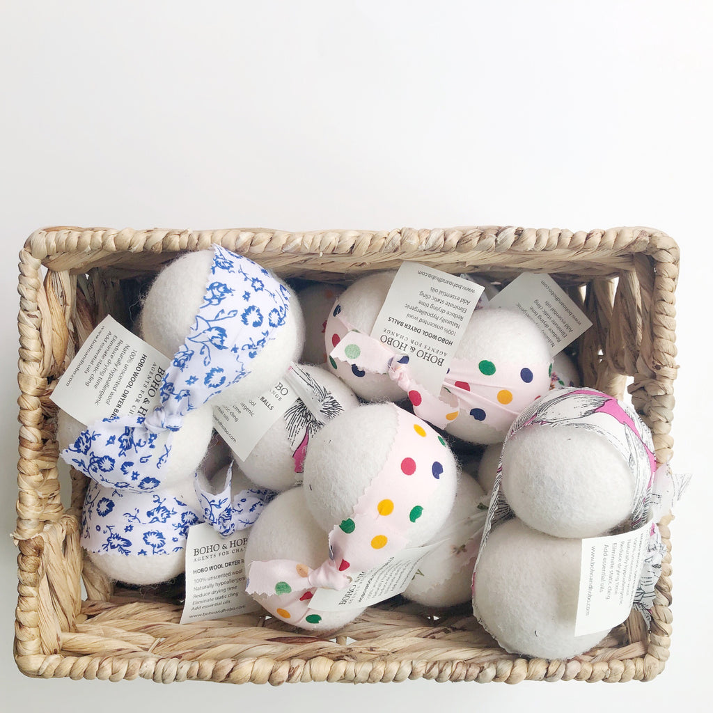 Life without Dryer Sheets.  Why dryer balls are AMAZING, why you need them, and how to take care of them